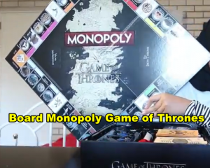 Board Monopoly Game of Thrones